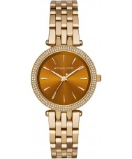 Michael Kors MK3408 Ladies Mini Darci Whiskey Gold Plated Watch