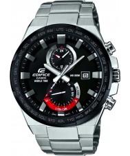 Casio EFR-542DB-1AVUEF Mens Edifice World Time Silver Watch