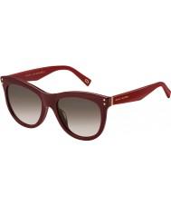 Marc Jacobs Ladies MARC 118-S OPE K8 Burgundy Sunglasses