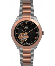 Rotary GB90517-01 Mens Les Originales Jura Silver Rose Gold Automatic Watch