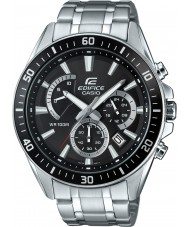 Casio EFR-552D-1AVUEF Mens Edifice Premium Silver Chronograph Watch