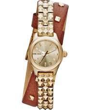 Diesel DZ5414 Ladies Kray Kray 22 Double Band Gold Plated Watch