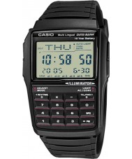 Casio DBC-32-1AES Mens Collection Black Calculator Watch with Telememo