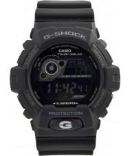 Casio GR-8900A-1ER Mens G-Shock World Time Black Solar Powered Watch
