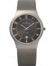 Skagen 233XLTTMO Mens Klassik Grey Titanium Mesh Watch