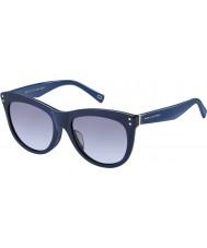Marc Jacobs Ladies MARC 118-S OTC LL Blue Sunglasses
