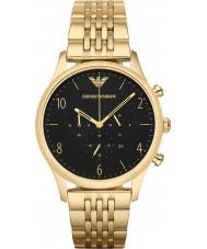 Emporio Armani AR1893 Mens Classic Chronograph Gold Plated Link Bracelet Watch