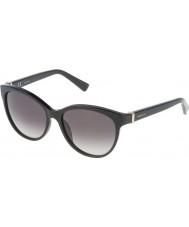 Nina Ricci Ladies SNR003-700 Shiny Black Sunglasses