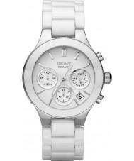 DKNY Ladies Chambers White Ceramic Bracelet Watch