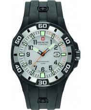 Swiss Military 6-4292-27-009-07 Mens Bermuda Black Silicone Strap Watch