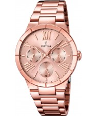 Festina F16718-2 Ladies Rose Gold Plated Multifunction Watch