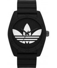 Adidas ADH6167 Santiago Black Silicone Watch