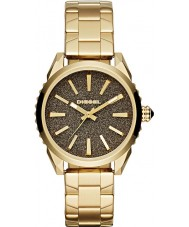 Diesel DZ5474 Ladies Nuki Gold Plated Watch