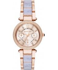 Michael Kors MK6327 Ladies Mini Parker Two Tone Steel Chronograph Watch