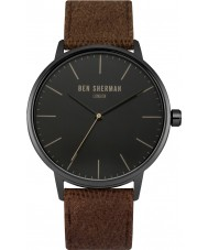 Ben Sherman WB009TB Mens Portobello Social Brown Fabric Strap Watch