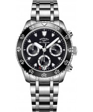 Rotary GB90170-04 Mens Timepieces Legacy Silver Chronograph Watch