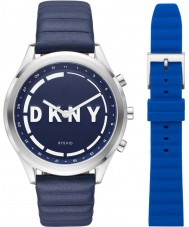 DKNY Minute NYT6104 Ladies Woodhaven Smartwatch and Strap Gift Set
