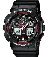Casio GA-100-1A4ER Mens G-Shock Auto LED Light Black Watch
