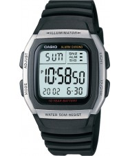 Casio W-96H-1AVES Collection Alarm Chronograph Watch