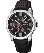 Festina F16585-8 Mens Multifunction Leather Strap Watch