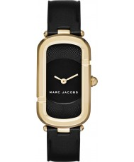 Marc Jacobs MJ1484 Ladies Jacob Black Leather Strap Watch