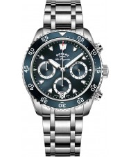 Rotary GB90170-05 Mens Timepieces Legacy Silver Chronograph Watch