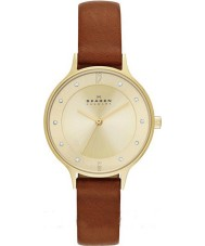 Skagen SKW2147 Ladies Anita Saddle Leather Strap Watch