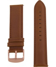 Charles Conrad CDA1006-18-L9 Brown Leather Strap
