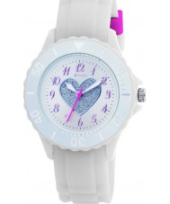 Tikkers TK0034 Kids White Rubber Watch