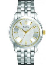 Bulova 98A125 Mens Silver Watch