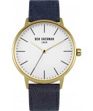 Ben Sherman WB009UG Mens Portobello Social Navy Fabric Strap Watch