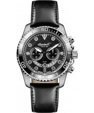 Ingersoll INQ032BKBK Mens Black Chronograph Watch