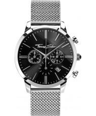 Thomas Sabo WA0245-201-203-42mm Mens Eternal Silver Steel Chronograph Watch