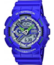 Casio GA-110DN-6AER Mens G-Shock World Time Blue Combi Watch