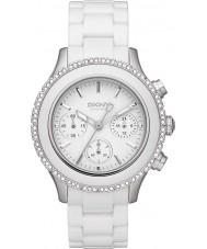 DKNY NY8672 Ladies Ceramix White Watch