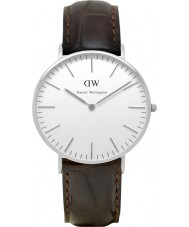 Daniel Wellington DW00100055 Ladies Classic York 36mm Silver Watch