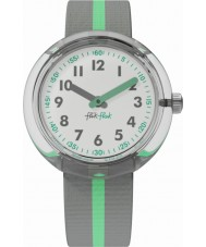 Flik Flak FPNP022 Green Band Watch