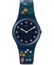 Swatch GN256 Ladies Flower Carpet Watch