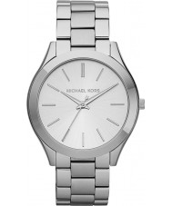 Michael Kors MK3178 Ladies Runway Silver Steel Bracelet Watch