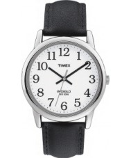 Timex T20501 Mens White Black Easy Reader Watch