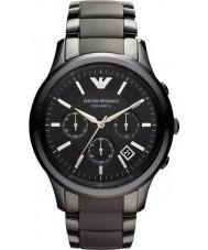 Emporio Armani AR1452 Mens Ceramic Black Chronograph Watch
