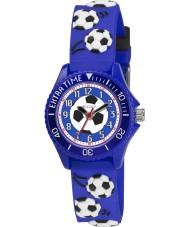 Tikkers TK0038 Boys Blue Football Watch