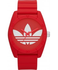 Adidas Santiago Red Silicone Watch