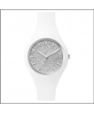 Ice-Watch ICE.GT.WSR.S.S.15 Ladies Ice-Glitter White Silicone Strap Small Watch