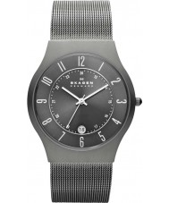 Skagen 233XLTTM Mens Klassik Grey Titanium Mesh Watch