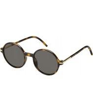 Marc Jacobs Mens MARC 48-S TLR 8H Havana Sunglasses
