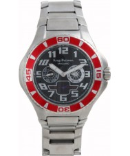 Krug-Baumen 140505KM Vanguard Black Steel Watch
