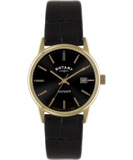Rotary GS02877-04 Mens Timepieces Avenger Rose Gold Black Watch
