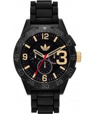 Adidas ADH2905 Mens Newburgh Black Rubber Strap Chronograph Watch