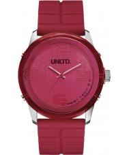 UNLTD by Marc Ecko The Fuse Red Plastic Watch